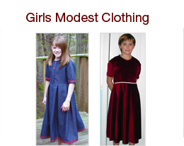 Girls Modest Clothing